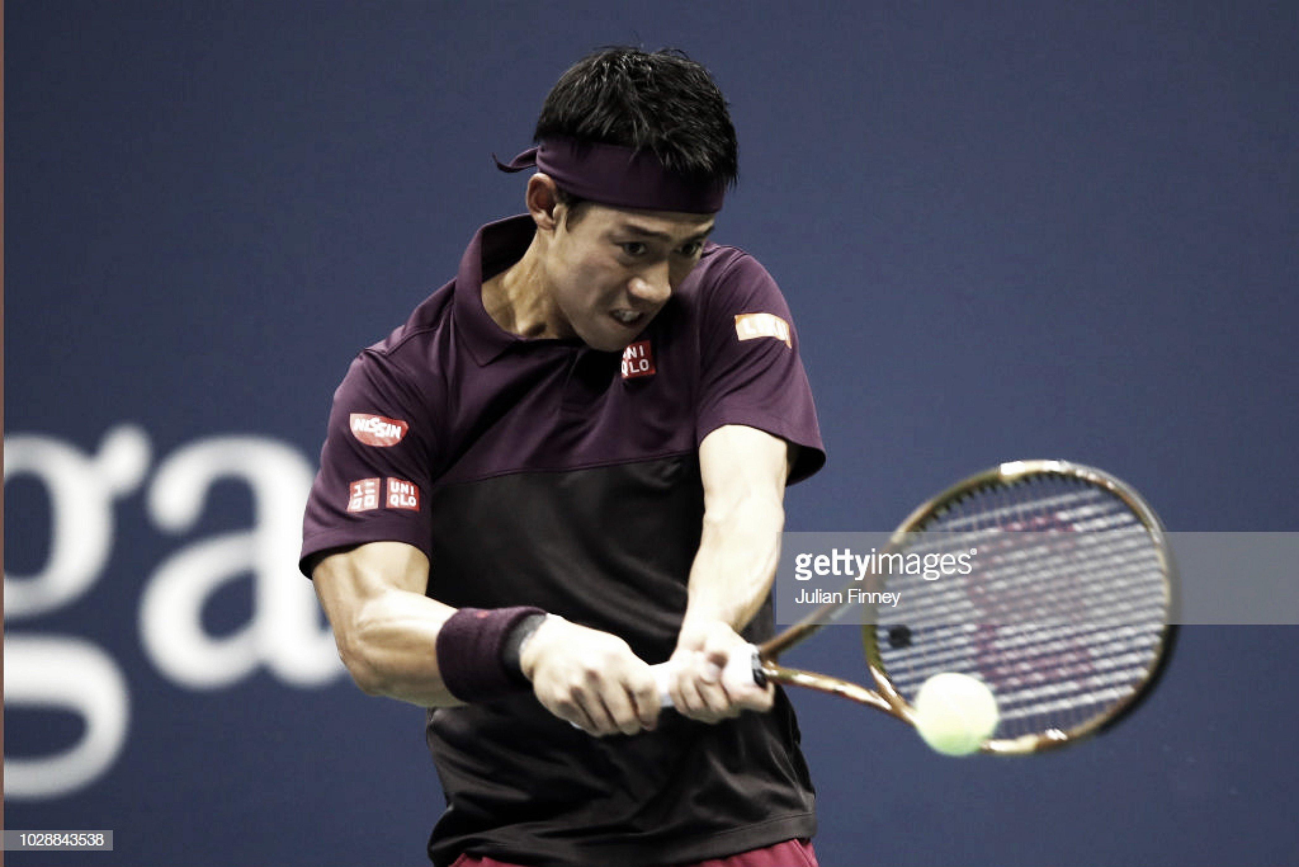 Nishikori destrona al campeón en Metz