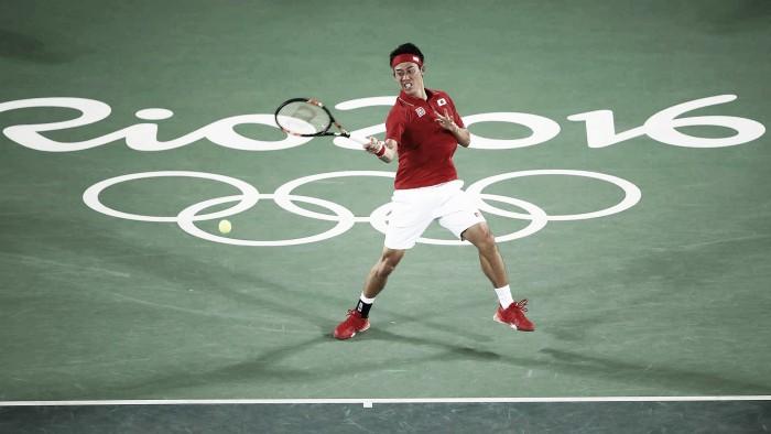Kei Nishikori salva três match points, vence Monfils e encara Murray na semifinal da Rio 2016