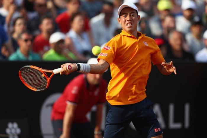ATP Ginevra, il programma di martedì: debutta Nishikori