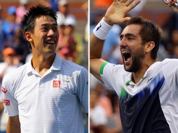 US Open : Nishikori-Cilic, une finale inédite