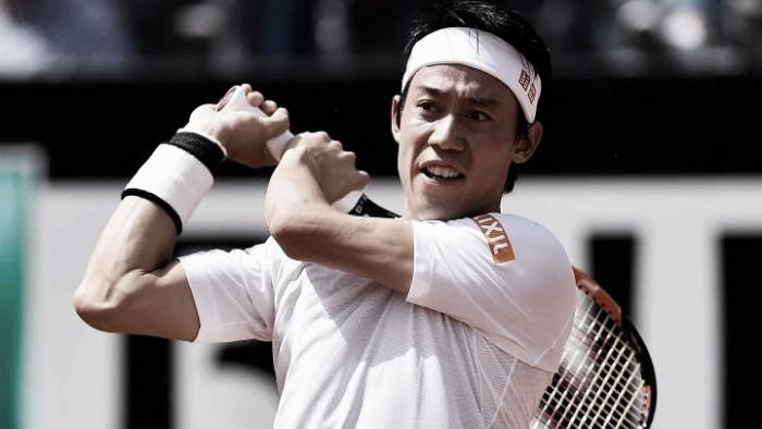 Nishikori vence Gasquet e avança sem dificuldades para as quartas em Roma