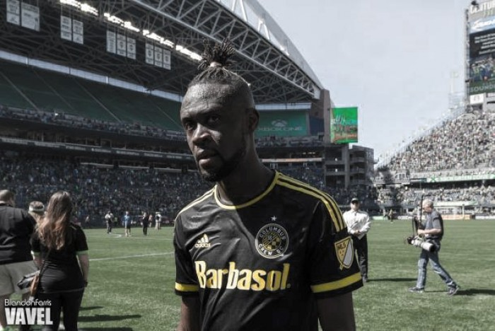 Suspended Kei Kamara being shopped by Columbus Crew SC