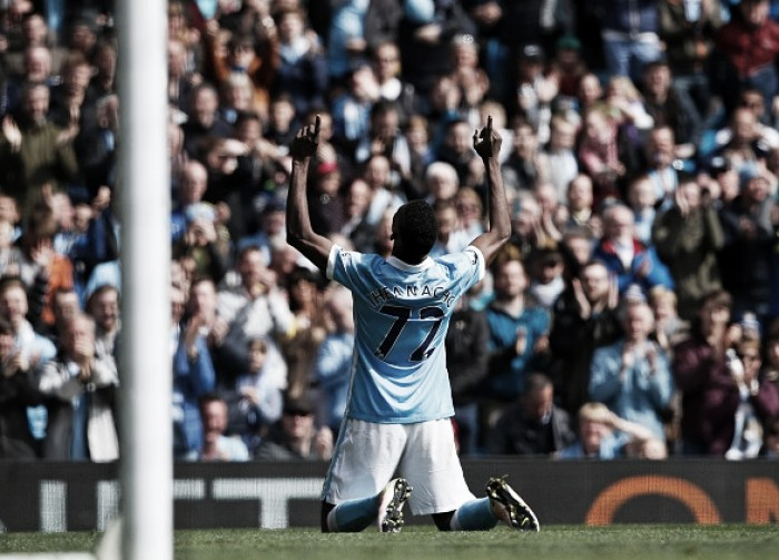 Manchester City 4-0 Stoke City: Kelechi at the double as Citizens breeze past leaky Potters