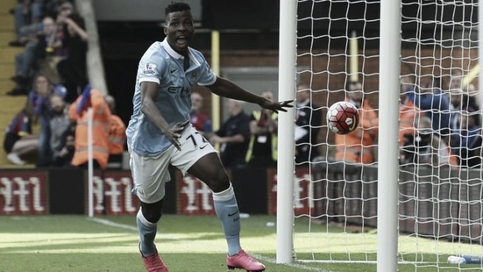 "Kelechi Iheanacho excited by ""great atmosphere"" as Guardiola gets to work"