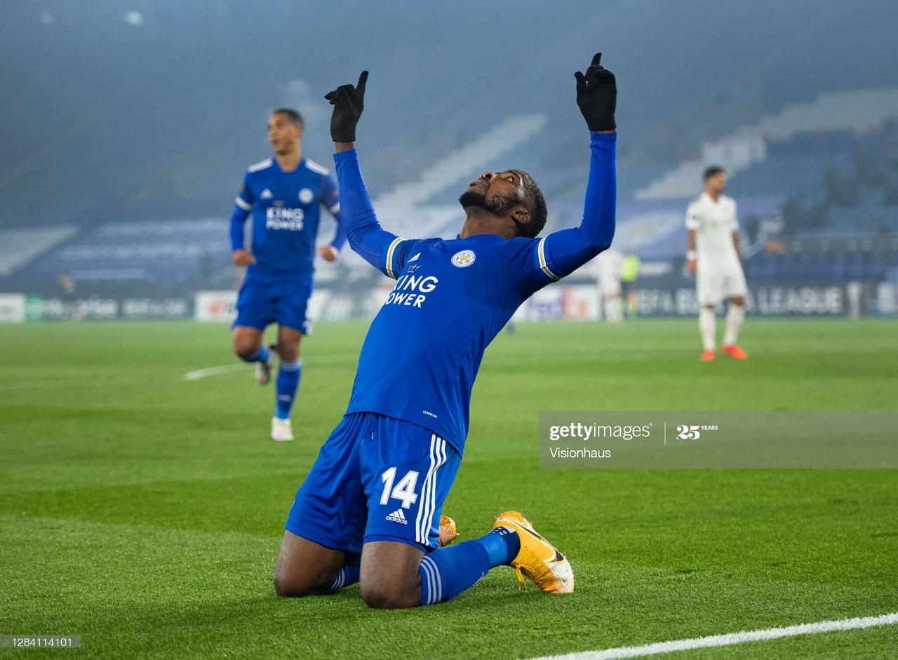 Leicester City 4-0 SC Braga: Foxes maintain 100% European record in rout against SC Braga