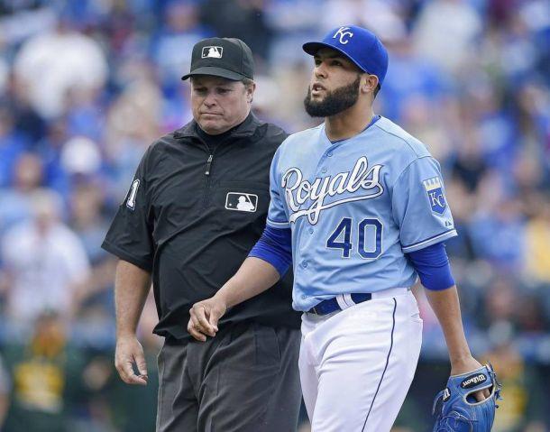 Kansas City Royals' Kelvin Herrera Suspended, Yordano Ventura Fined