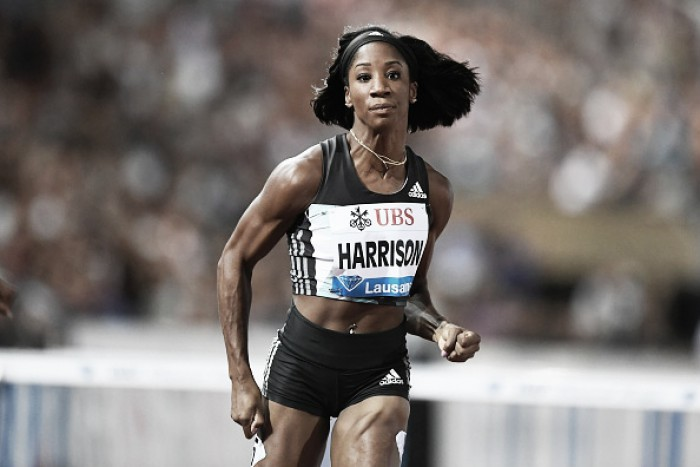 Diamond League: Harrison and Powell record wins in Zurich