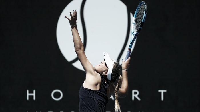 Kenin atropela Schmiedlova e vence primeiro título da carreira em simples em Hobart