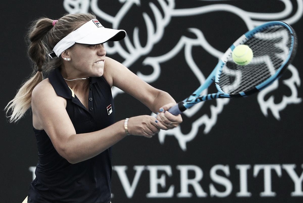 Garcia perde para Kenin em Hobart e continua sem vencer em 2019