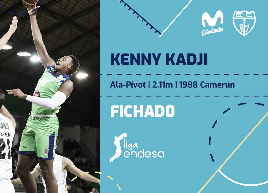 Kenny Kadji, nuevo jugador del Movistar Estudiantes