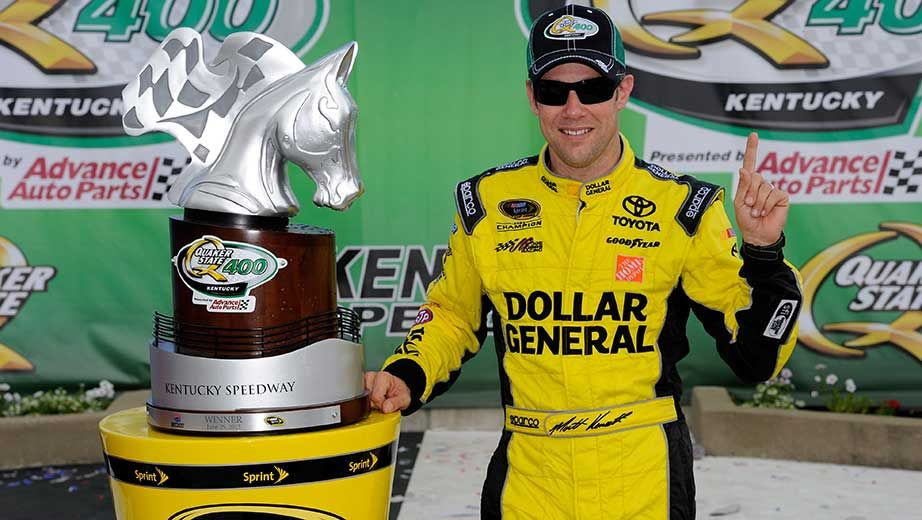 NASCAR - Kentucky : Kenseth opportuniste