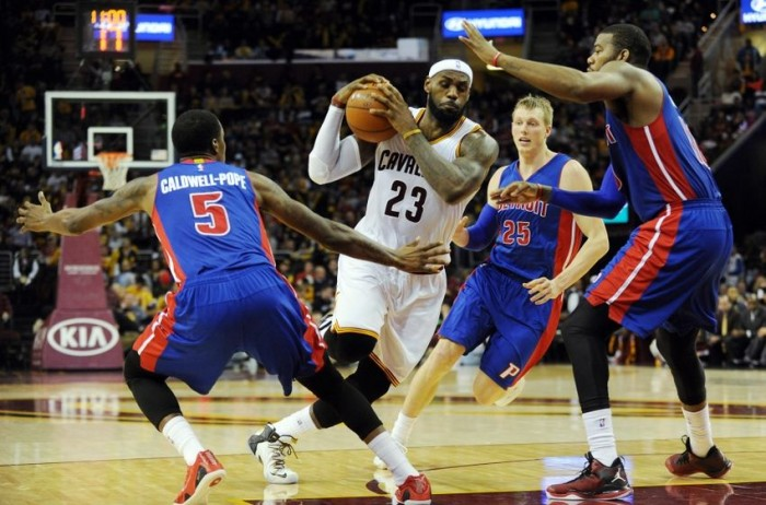 Cleveland Cavaliers Look To Win Their Sixth Straight At Home Against The Detroit Pistons