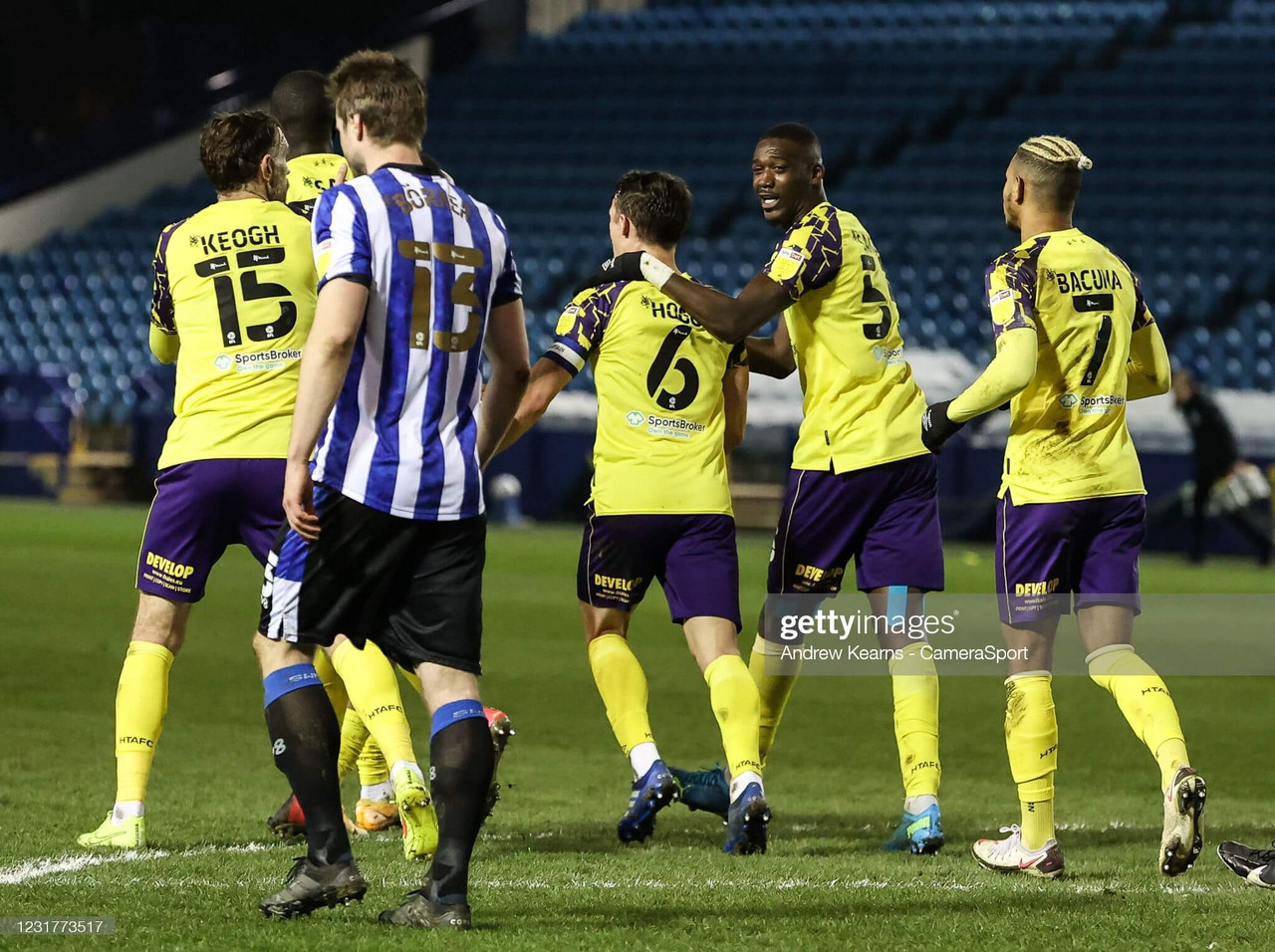 Sheffield Wednesday 1-1 Huddersfield Town: Huddersfield player ratings in point gained