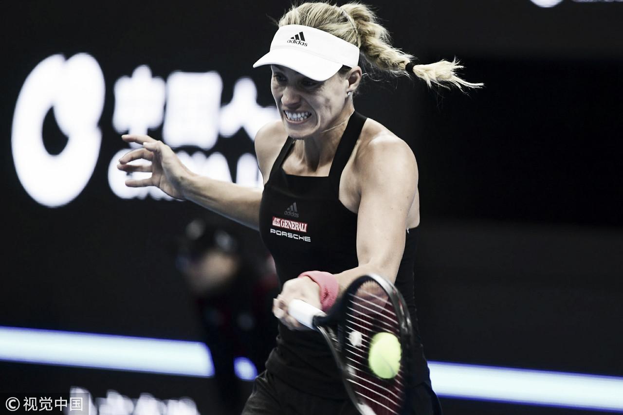 Kerber atropela Mladenovic na estreia em Pequim