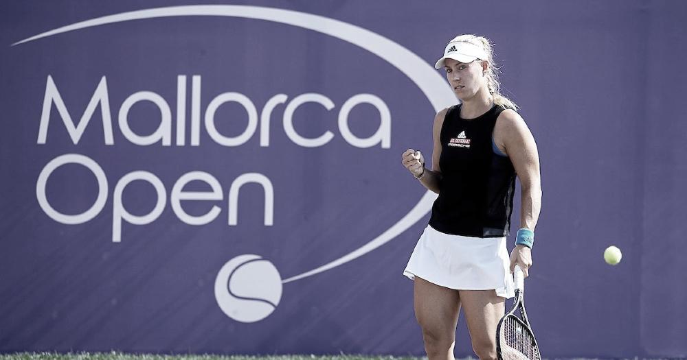 Kerber encerra sequência invicta de Garcia e segue viva em Mallorca