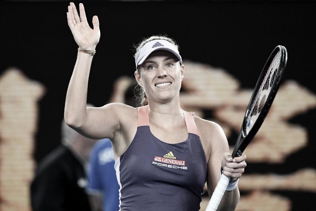 Kerber passa por cima de Cocciaretto e vai à segunda rodada no Australian Open