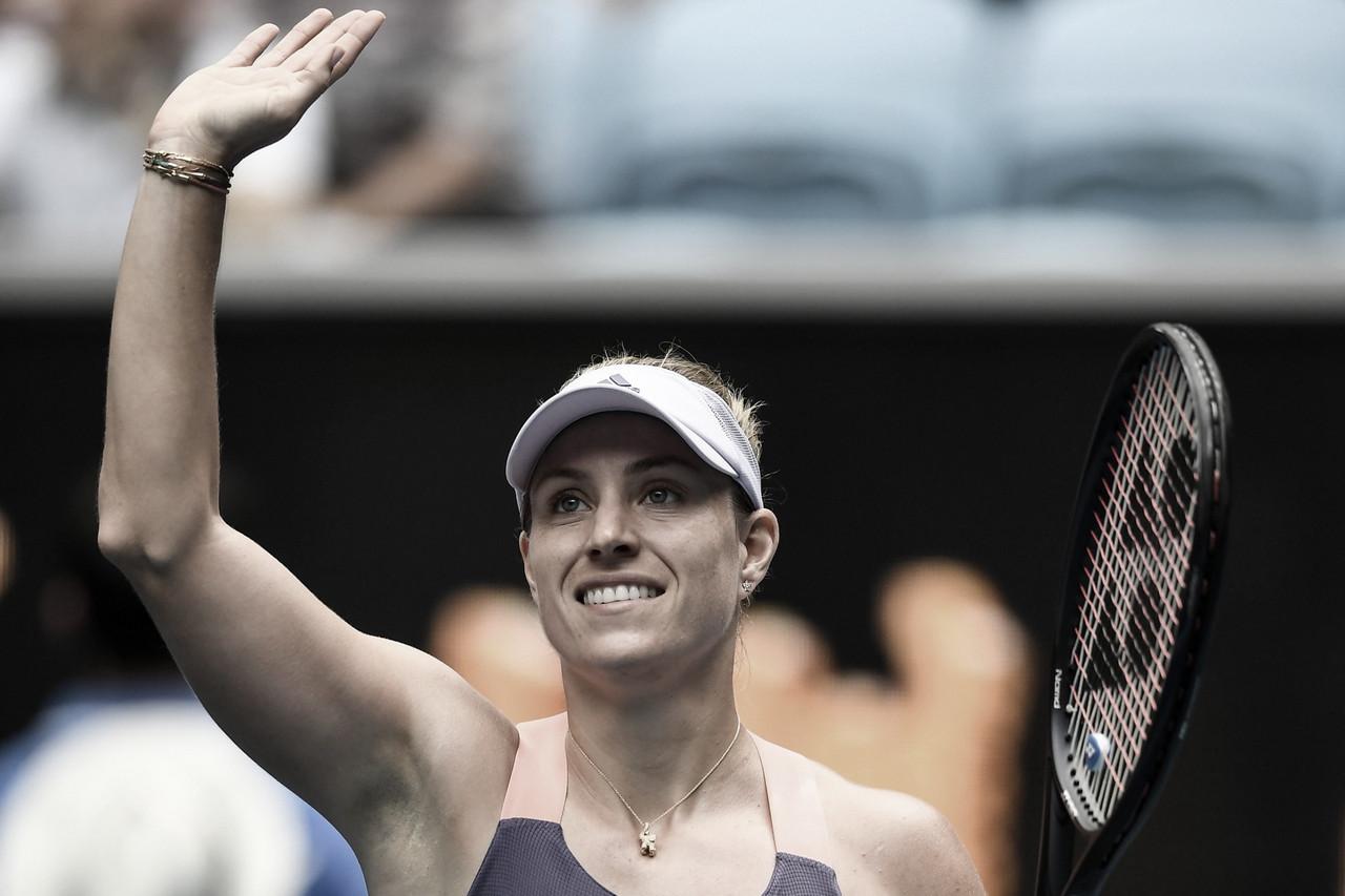 Kerber derrota Hon e avança à terceira rodada no Australian Open
