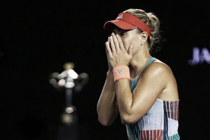Top 5 WTA upsets of 2016: #5 - Angelique Kerber stuns Serena Williams Down Under for first major title