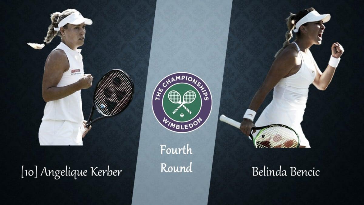 Wimbledon Fourth Round Preview: Angelique Kerber vs Belinda Bencic