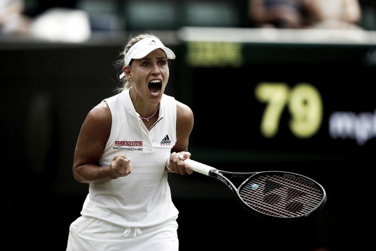 Wimbledon: Angelique Kerber fights past Belinda Bencic in high-quality encounter
