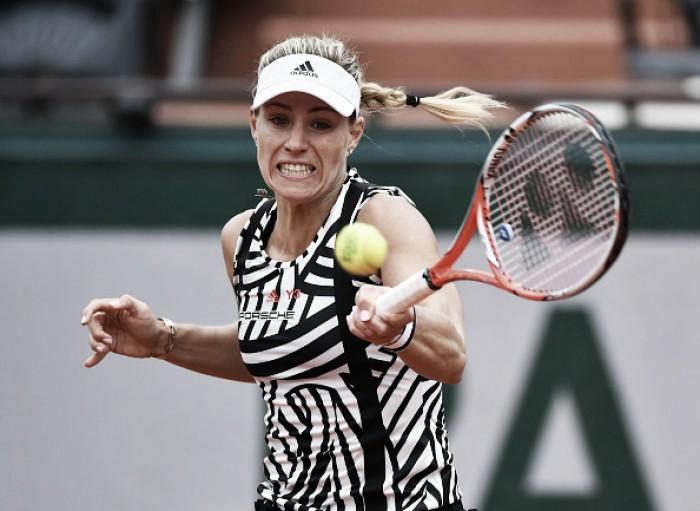 Angelique Kerber é superada por Bertens em Roland Garros