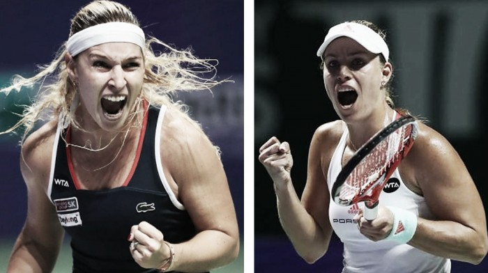Angelique Kerber x Dominika Cibulkova: pelo título inédito do WTA Finals