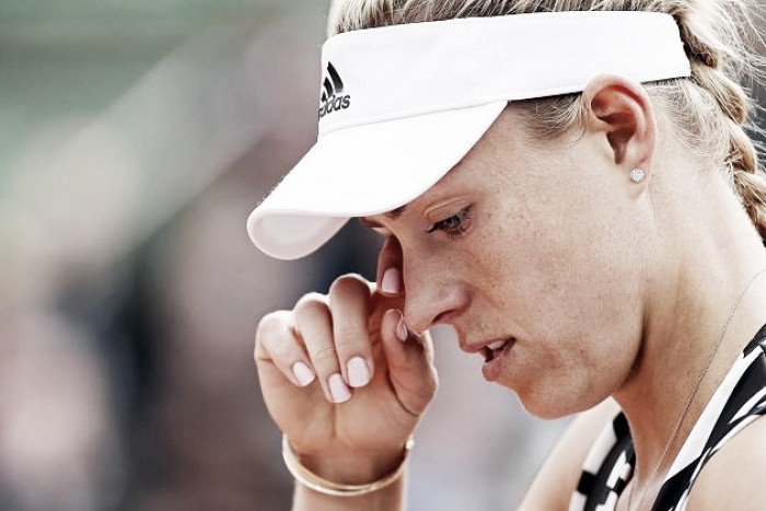 French Open 2016: Australian Open champion Angelique Kerber crashes out of the first round to Kiki Bertens