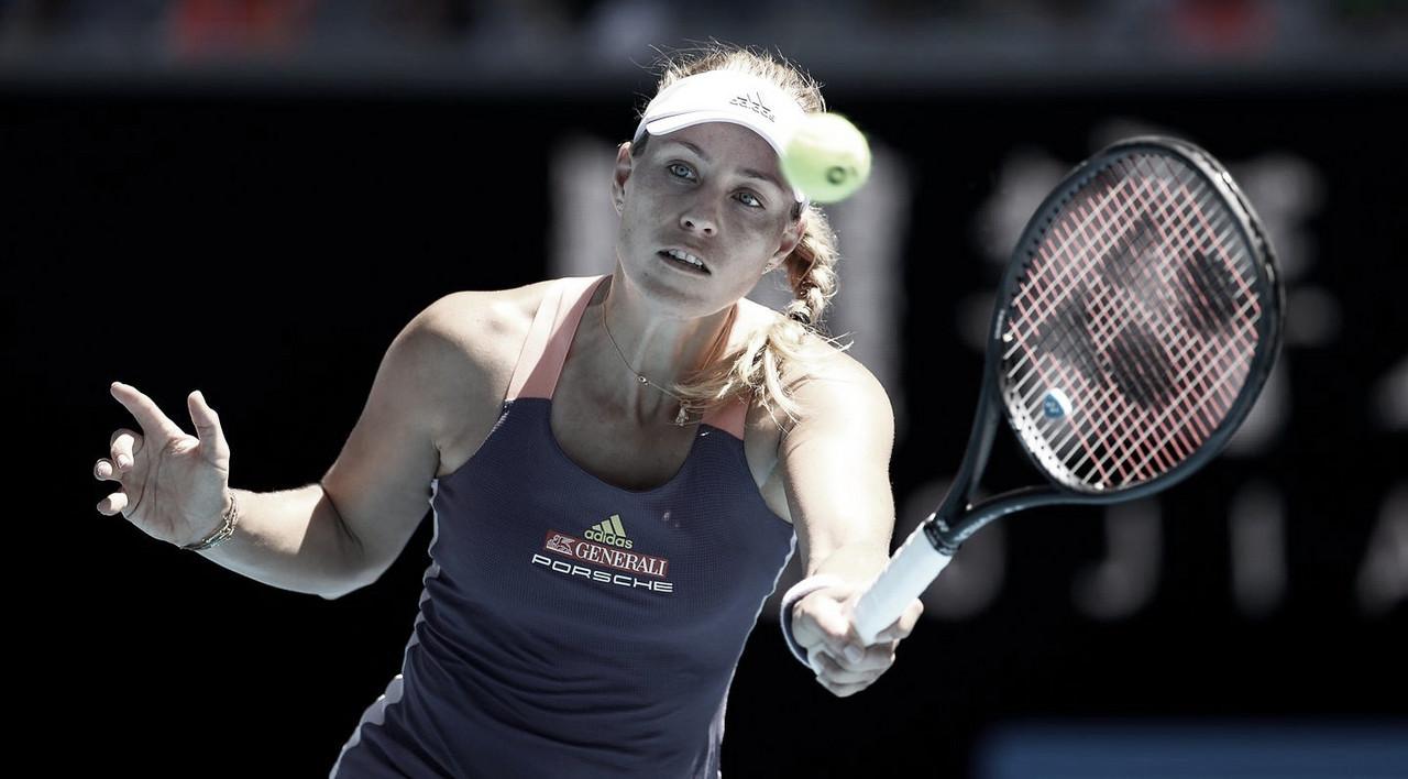 Kerber faz jogo sólido, bate Giorgi e avança no Australian Open