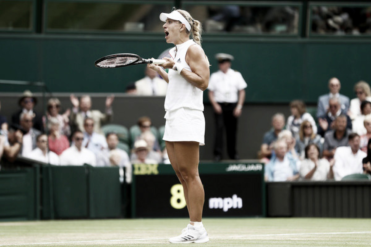 Wimbledon: Angelique Kerber ousts Daria Kasatkina in thriller