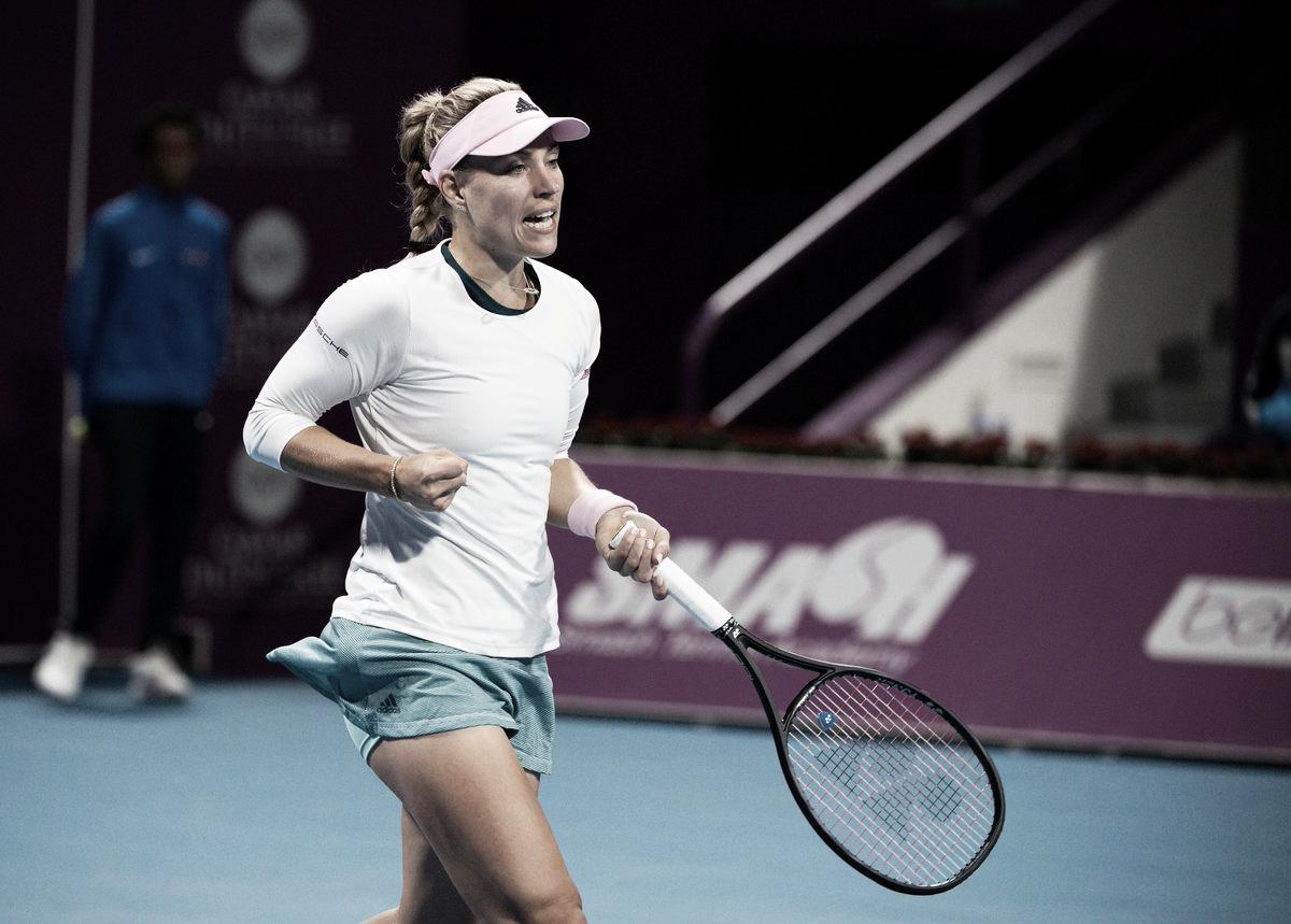 Kerber quebra retrospecto e elimina Kontaveit em Doha
