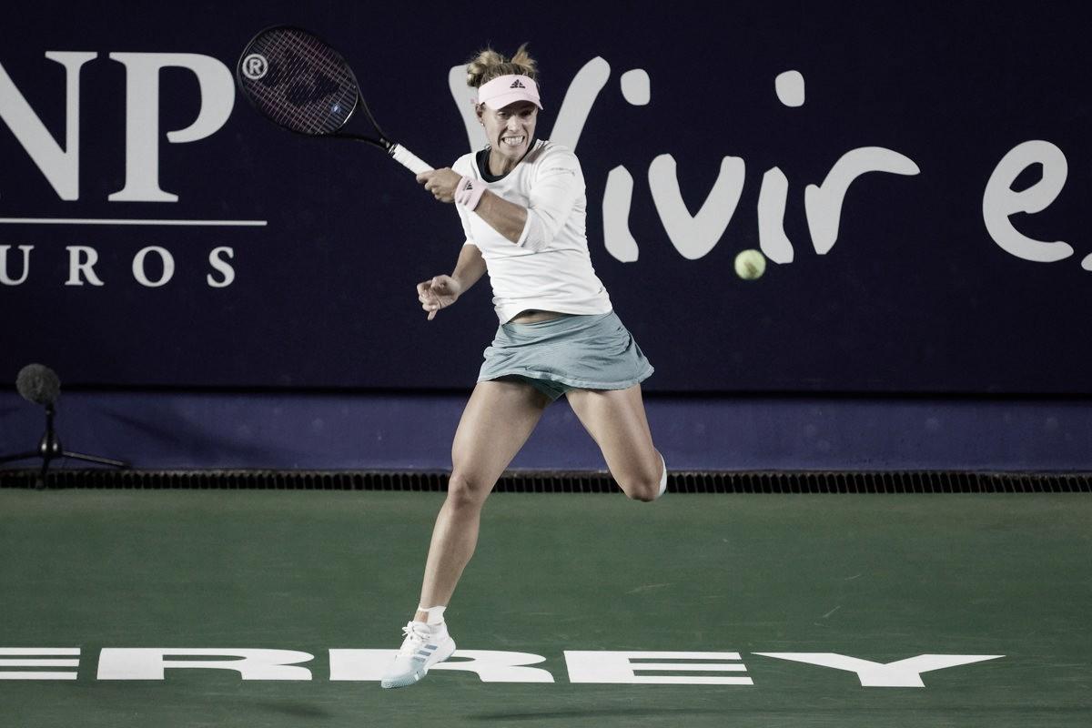 Kerber supera Kucova e avança em Monterrey
