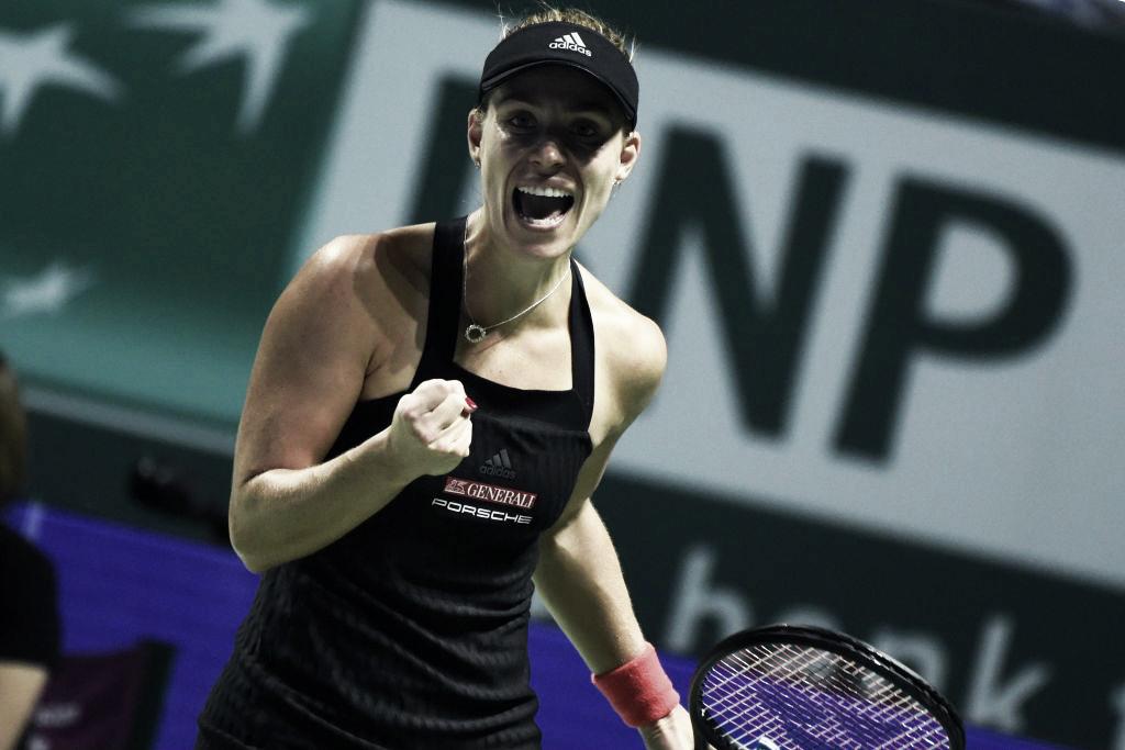 Kerber prevalece contra Osaka no duelo das últimas campeãs de Slam em Singapura