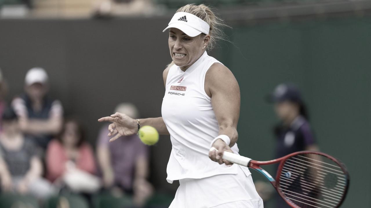 Kerber vira e avança para enfrentar Gauff em Wimbledon; Ostapenko e Pavlyuchenkova caem
