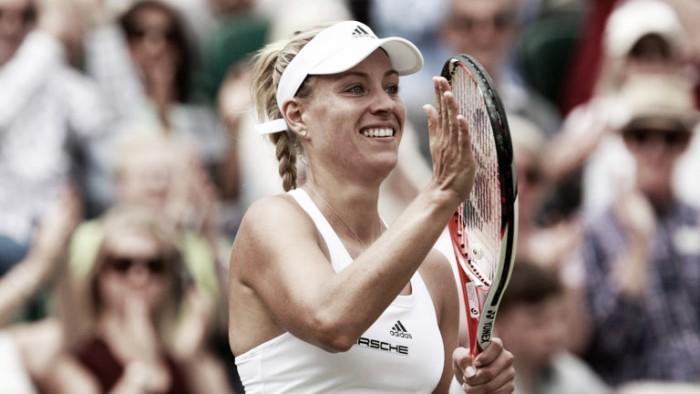 Wimbledon 2016: Kerber defeats Halep to reach the semi-finals
