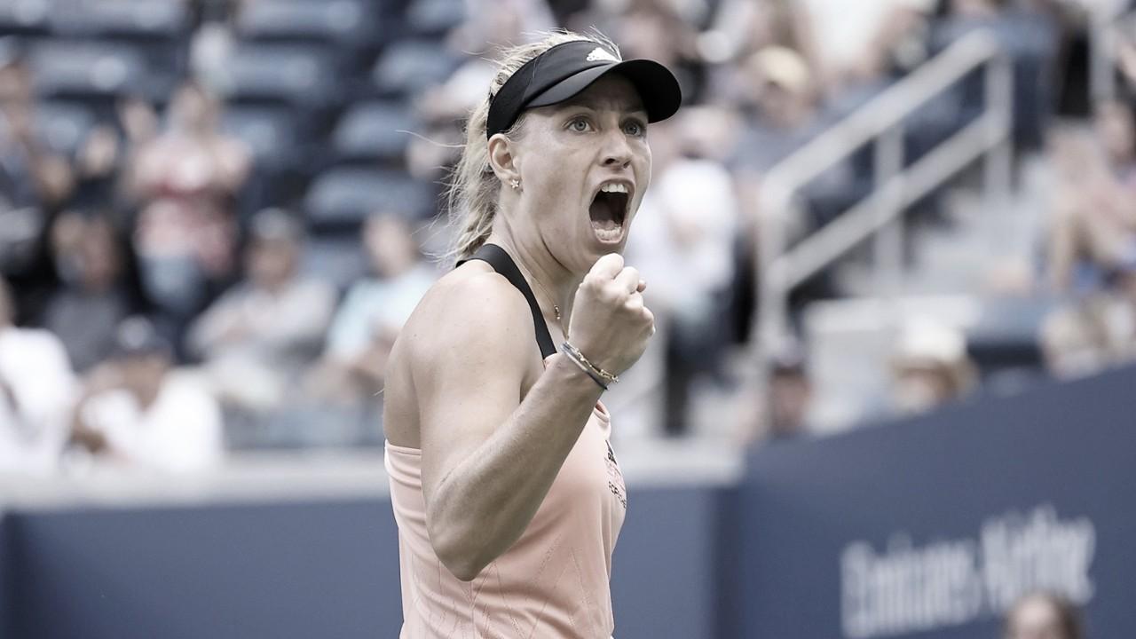 Kerber supera duelo de campeãs contra Stephens no US Open 2021; Svitolina avança