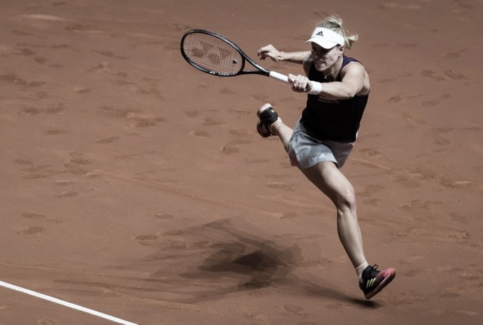 Kerber estreia em Madrid com vitória tranquila sobre Tsurenko