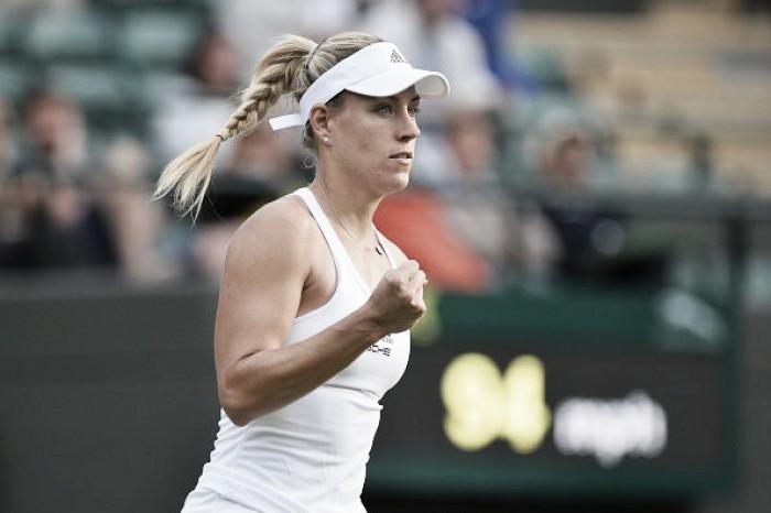 Kerber joga bem, vence Lepchenko em sets diretos e avança em Wimbledon
