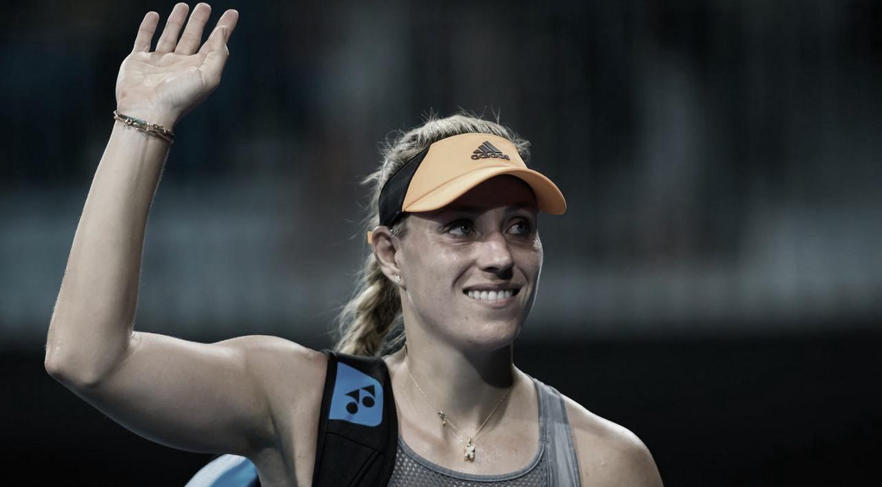 Kerber supera Wang e avança em Adelaide