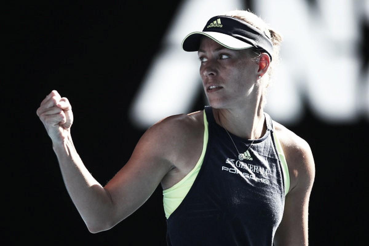 Kerber elimina a la vigente campeona
