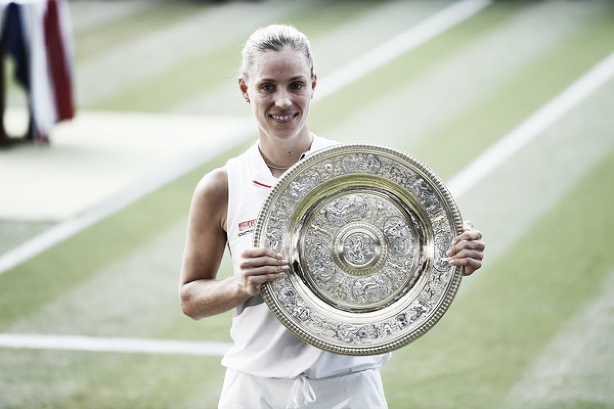 Wimbledon: Angelique Kerber stuns Serena Williams for third Major trophy
