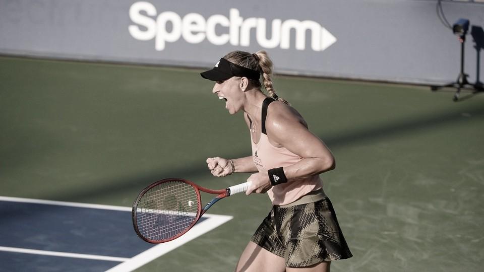 Kerber reage e supera desafio contra Yastremska no US Open; Svitolina estreia bem