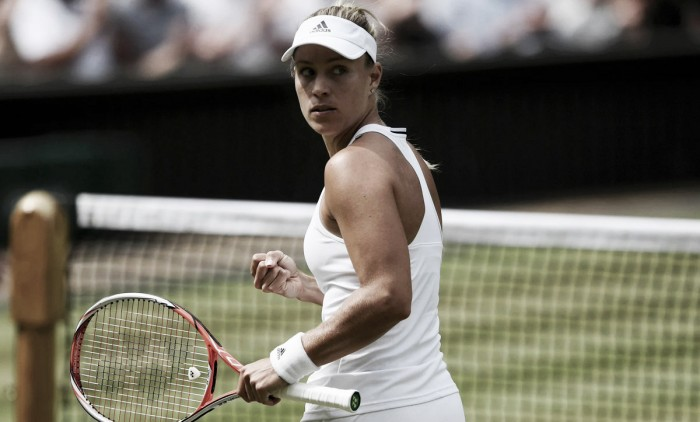 Wimbledon 2016: Kerber holds her nerve to reach first Wimbledon final