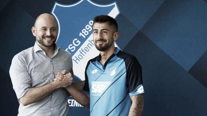 Kerem Demirbay assina por três temporadas com o Hoffenheim
