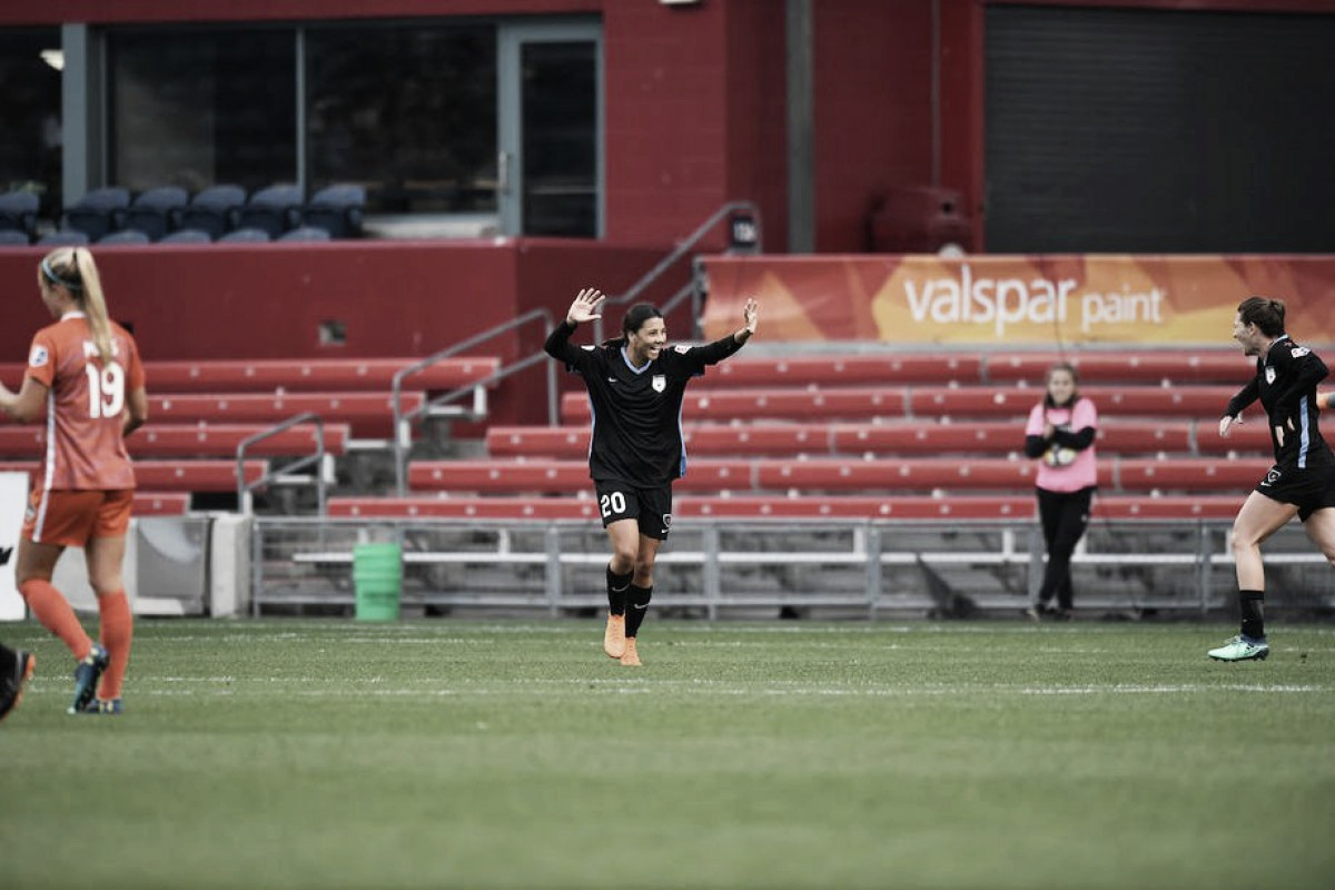 Chicago Red Stars vs. Houston Dash recap: Houston's unbeaten streak continues as Red Stars come back twice for a draw