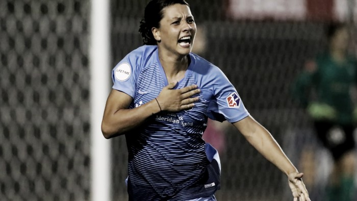Four-goal Kerr sizzles in NWSL