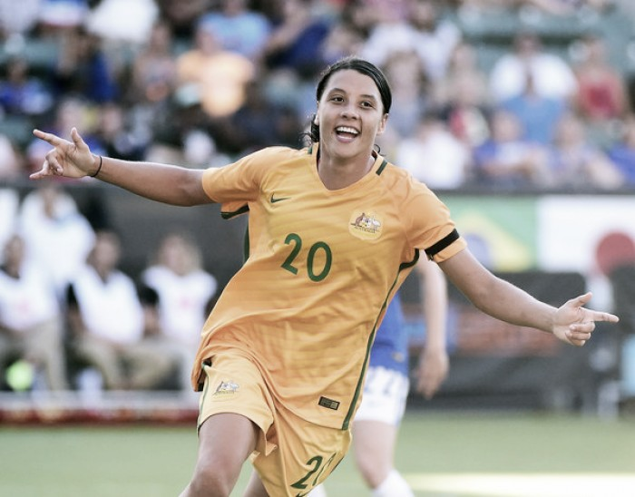 Sam Kerr picks up another award with West Australian-RAC Sports Star of the Year
