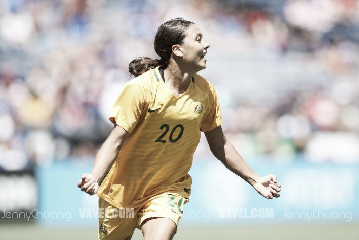 Sam Kerr wins PFA Women's Footballer of the Year