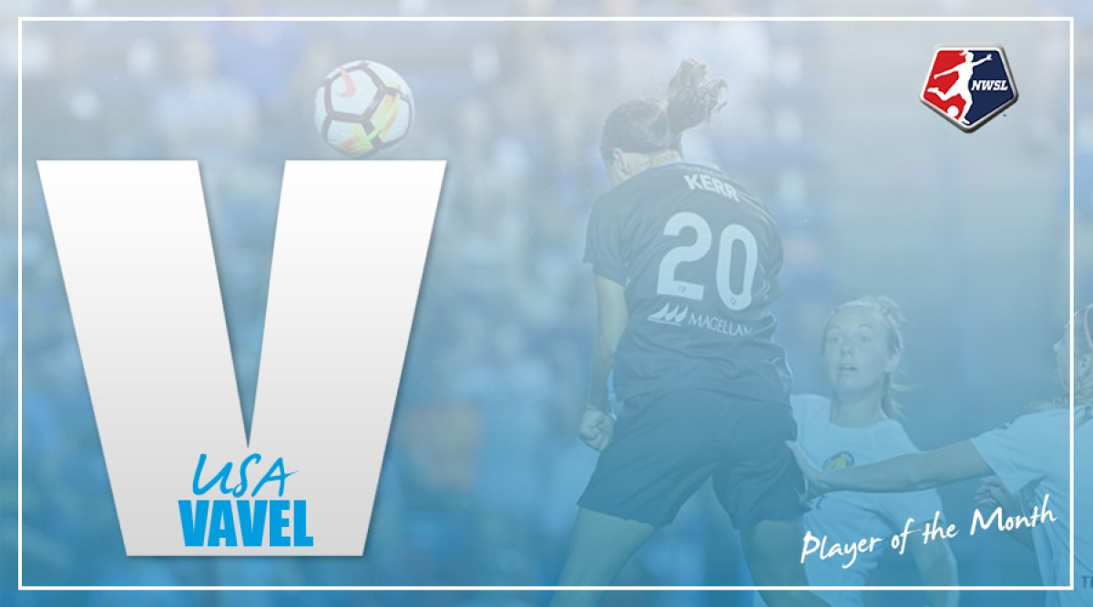 Sam Kerr named NWSL Player of the Month for August