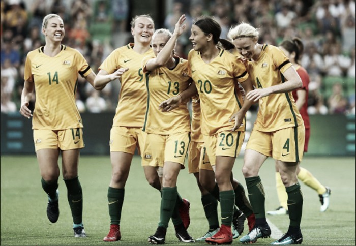 Westfield Matilda star Sam Kerr earns ABC Sports Personality of the Year award