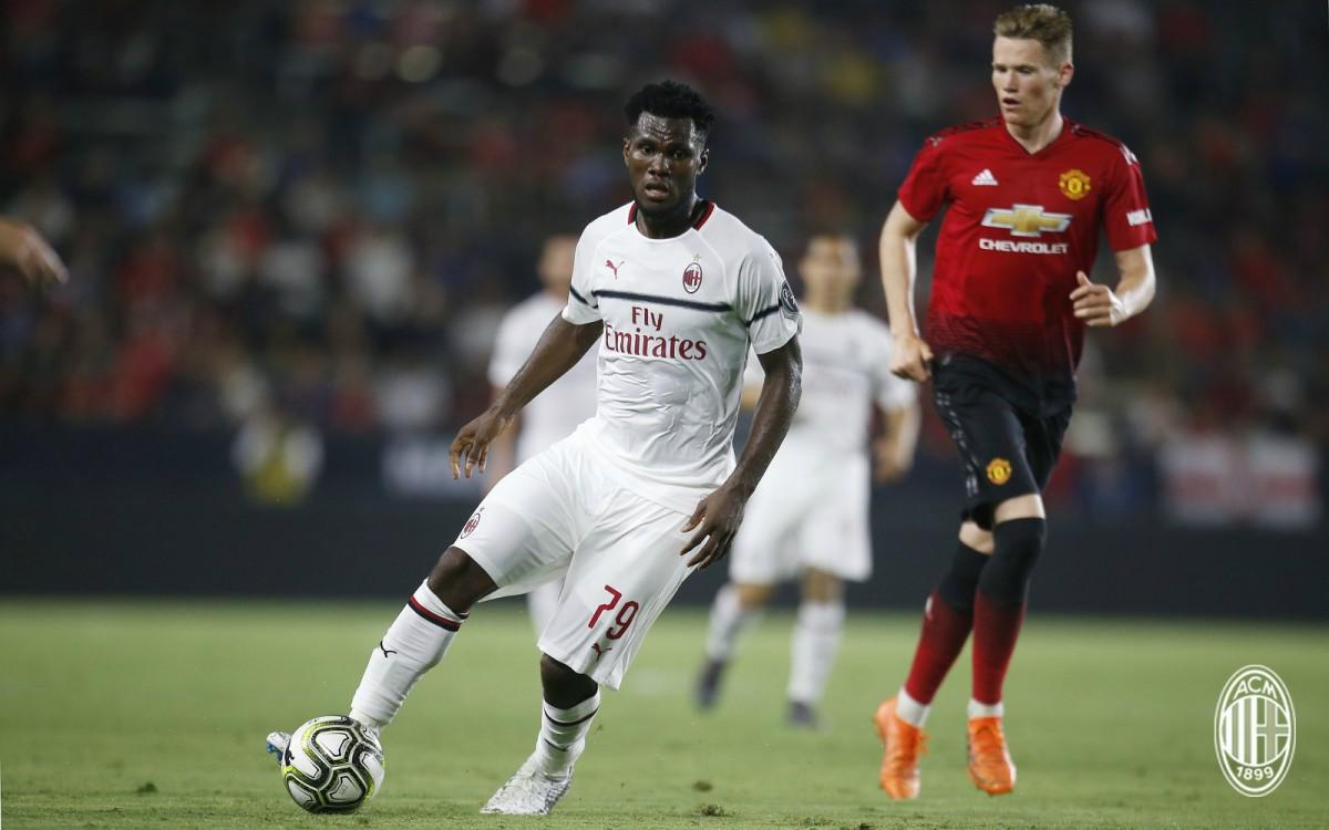 ICC - Al 13° giro di rigori vince lo United: decisivo l'errore di Kessie per il Milan (8-9 dcr)